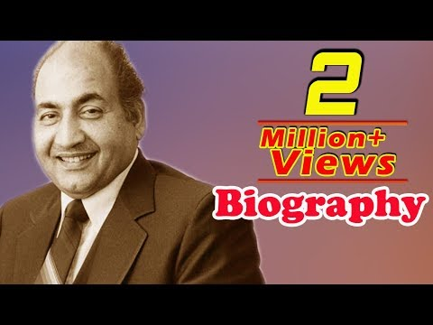 Mohammed Rafi - Biography