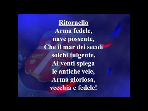 Testo Canto dei Carabinieri