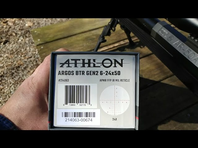 Athlon Argos BTR GEN2 6-24x50!! Quick Look...