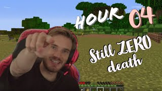 [Official] PewDiePie 12 Hour Livestream Playing Minecraft on DLive ( the 4th hour)