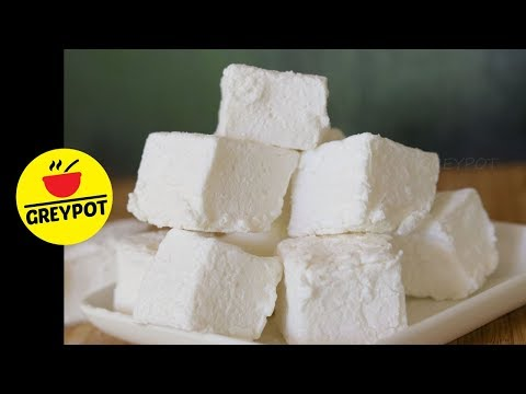 3 Ingredient Marshmallow Homemade Recipe | No Thermometre No Corn Syrup