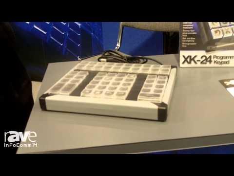 InfoComm 2014: PI Engineering Showcases its XK-24 Programmable Keypad