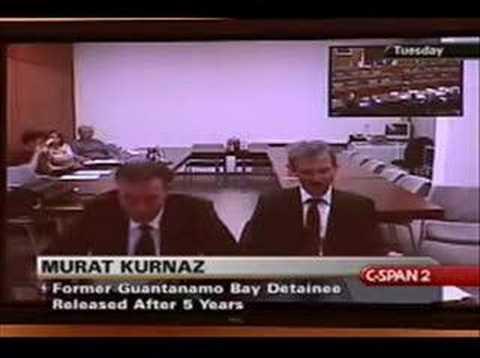 Murat Kurnaz: Detention at Guantanamo Bay Panel 1 (1/8)