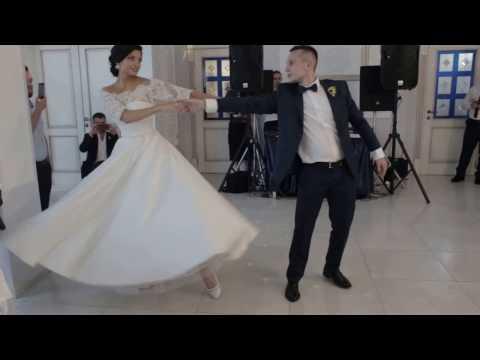 The BEST Brazilian Zouk Wedding Dance - Vadym & Anastasia (Kiev, Ukraine)