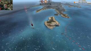 Лав. Тотальная война Рим II. Ярость Спарты. Беотийский союз. Ч2 Корабелов ищем мы.