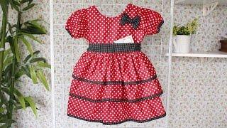 Como Fazer Vestido da Minnie