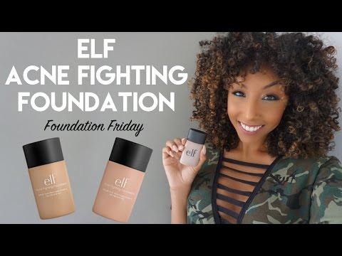 Elf Acne Fighting Foundation! Foundation Friday! | BiancaReneeToday