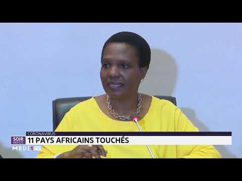 Coronavirus: onze pays africains touchés