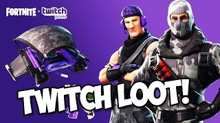 NEW TWITCH PRIME FORTNITE SKIN PACK REVEAL!!! (Fortnite Battle Royale)