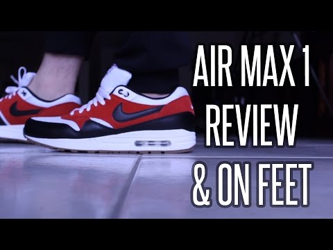 Nike Air Max 1 Essential Review & On Foot