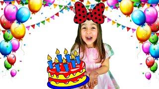 Алиса и не полезные сладости в день рождения папы
