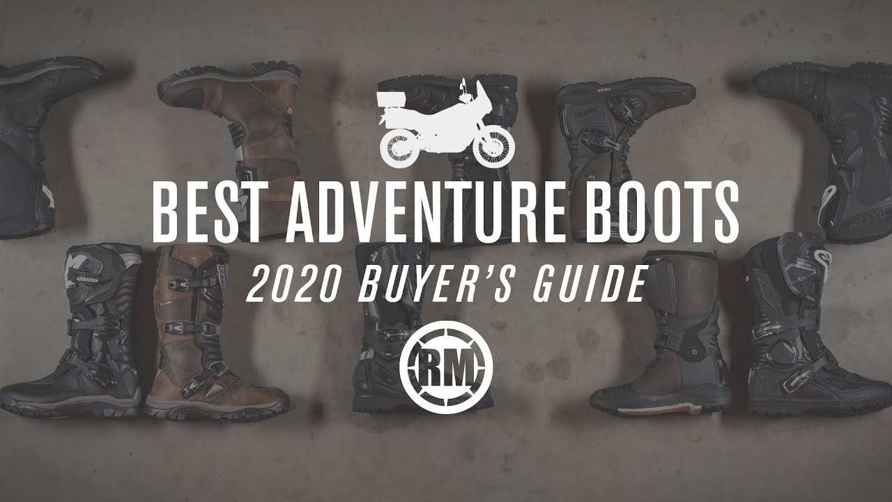 Best Dual Sport Motorcycle 2020.Best Adv Dual Sport Motorcycle Boots 2020