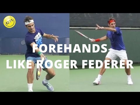How To Hit Your Forehand Like Roger Federer
