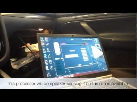 Brand NEW Rockford Fosgate 3.Sixty.3 Setup & Tune Session With The Laptop Interface USB