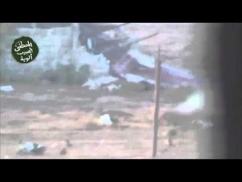 كتائب المعارضة تفجر دبابة في بلدة المليحة