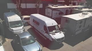 Sprinter Van High Roof Collision Repair   Bread Van