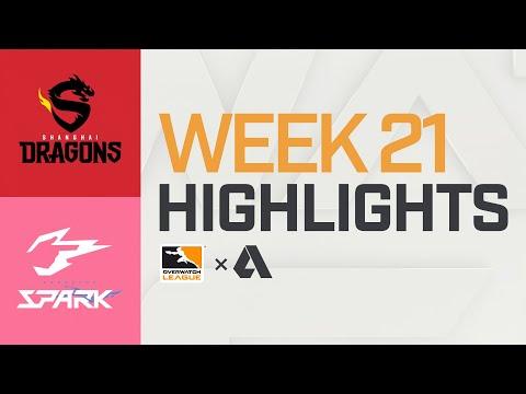 Akshon Highlights   Shanghai Dragons vs Hangzhou Spark   Week 21   APAC Day 2