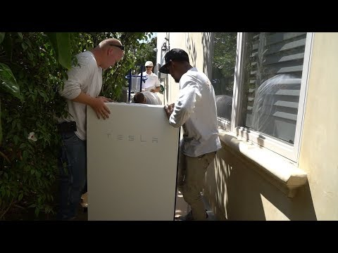 First Look: Tesla Powerwall 2 Install