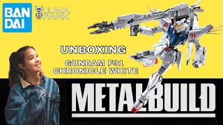 METAL BUILD Gundam F91 CHRONICLE WHITE unboxing review