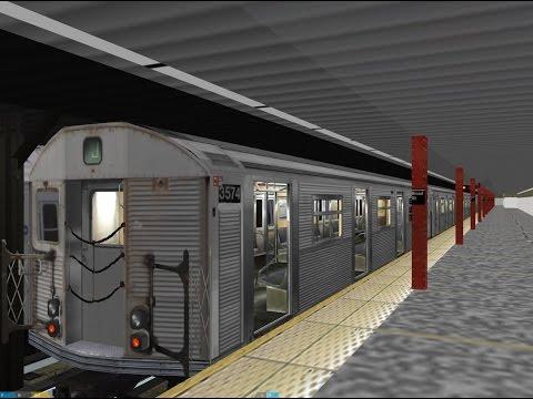 OpenBVE HD: R32 J Train from Jamaica Center-Broad Street