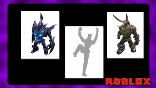 ROBLOX Released New Rthro Bundles With Special Emotes and Animations!