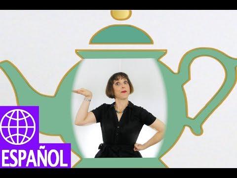 Songs for Kids in Spanish - I'm a Little Teapot - by Alina Celeste