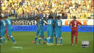 Зенит 5-0 Нордшелланд  Лига Чемпионов УЕФА 3 й квалификационный раунд