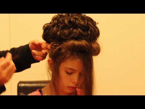 Irish dancing Hair Tutorial - Melbourne Academy