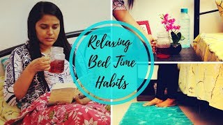 Bed Time Habits For a Relaxed Sleep | Calming Night Routine - Indian | Saloni Srivastava
