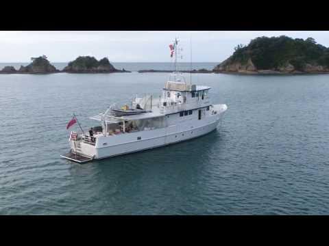 360 Of MV Takapu - Live aboard trawler