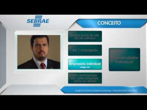 Vídeo Aula Sebrae: MEI Microempreendedor Individual-1ª parte_André Spínola 2012