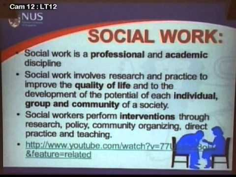 2013 FASS Open House  - Social Work: Get Paid Doing Something Fun and Meaningful