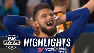 Chelsea vs. Hull City | 2017-18 FA Cup Highlights