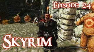 Skyrim Lets Play w/ Perkus Maximus 400+ mods Ep 24 Companions