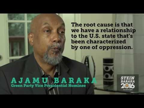 Green Party VP Candidate Ajamu Baraka on Systemic White Supremacy