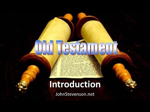 Old Testament Survey 01a - Introduction