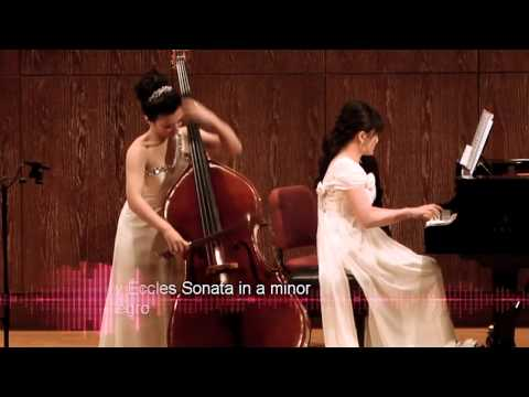 吳子安 Joanna Wu 2013-1-27  1 - Henry Eccles Sonata in g minor - Double Bass 低音提琴