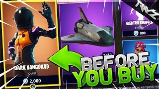 NEW LEGENDARY DARK VANGUARD | BEFORE YOU BUY (Fortnite: Battle Royale Should You Buy This Skin)