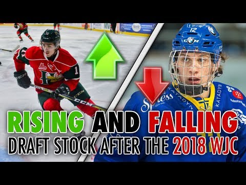 RISING AND FALLING DRAFT STOCK FROM THE 2018 WJC - 2018 NHL DRAFT (Dahlin, Zadina, Tkachuk..)