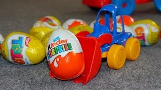Kinderfilm - Überraschungseier - Kinder Surprise Eggs