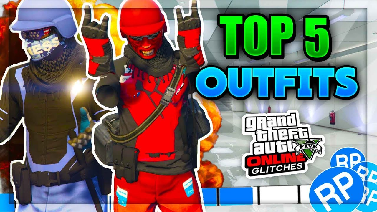 TOP 5 MODDED OUTFITS! BEST GTA 5 Online Tryhard And RNG Modded