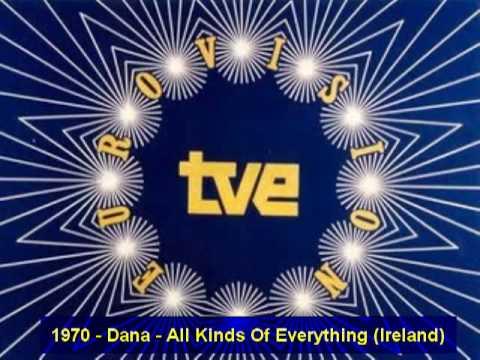 1970 - Dana - All Kinds Of Everything (Ireland). - YouTube