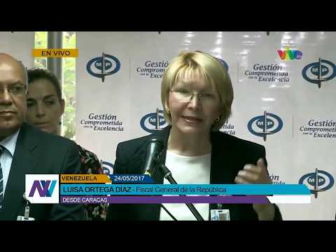 Venezuela Prosecutor General's Statement (with subtitles)