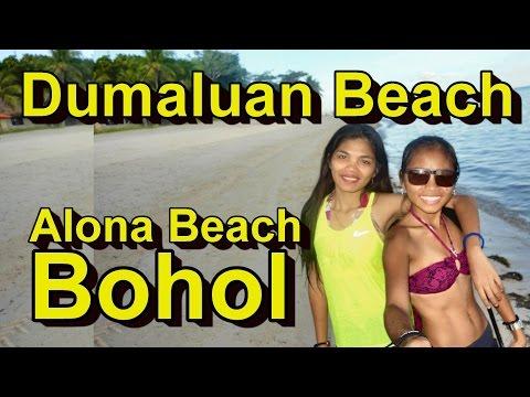 Dumaluan Beach or Alona Beach Bohol Philippines