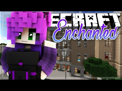 MOVING IN! | Minecraft Enchanted Episode #1 | (Minecraft Roleplay)