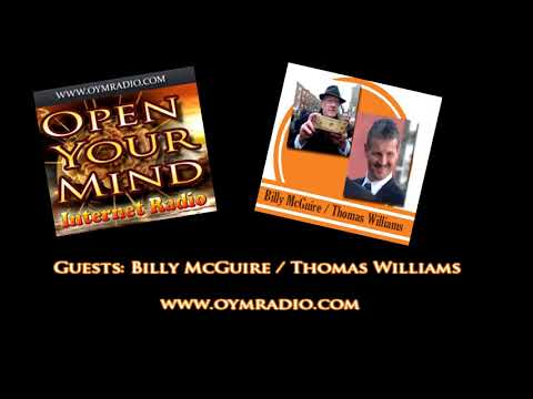 Open Your Mind (OYM) Radio - Billy McGuire / Thomas Williams - 27th January 2019
