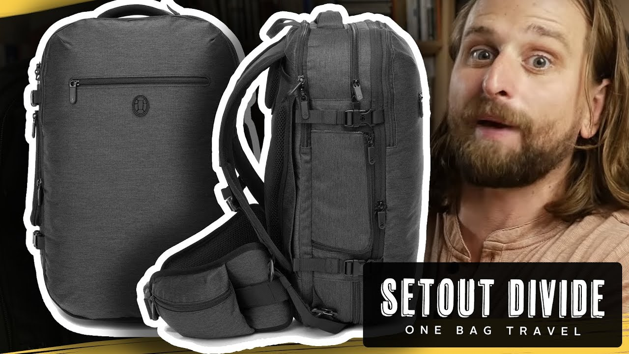 559cd16f130 SETOUT DIVIDE TRAVEL PACK REVIEW - YouTube