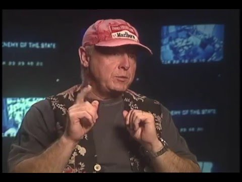 Director Tony Scott talks with Jimmy Carter Enemy of the State