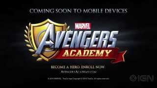 Marvel Avengers Academy Announcement Trailer