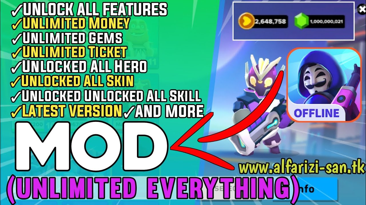 Heroes Strike Offline Mod Apk 2020 | Hack Unlimited Money / gems / Keys | Unlock All Characters